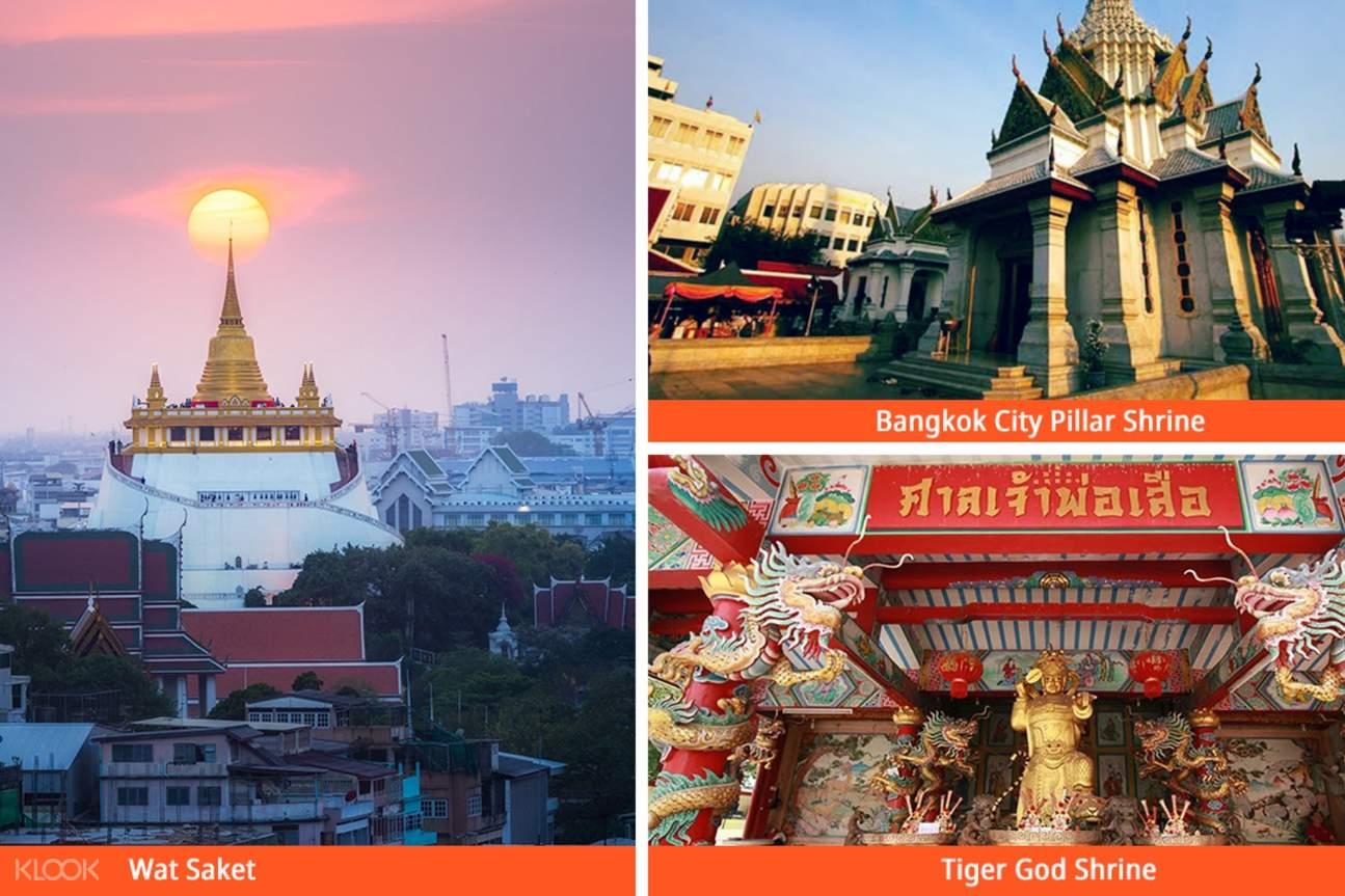 random temples in bangkok