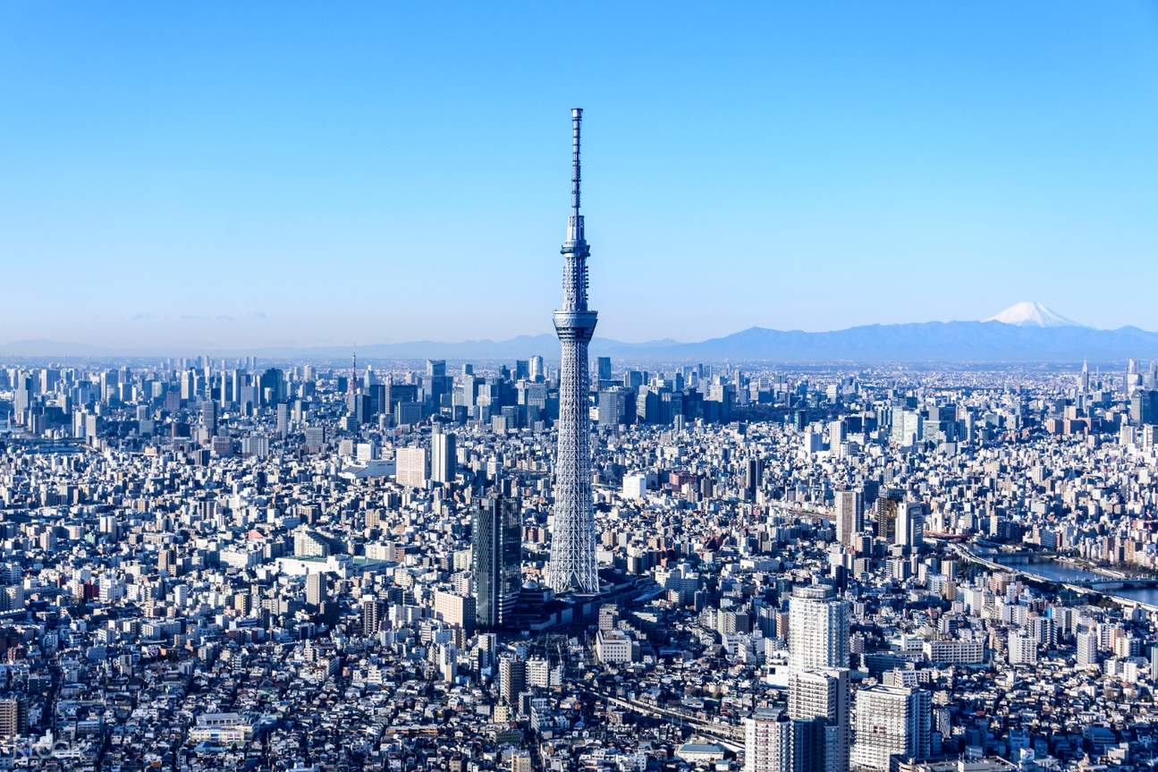 Tokyo Skytree in daytime