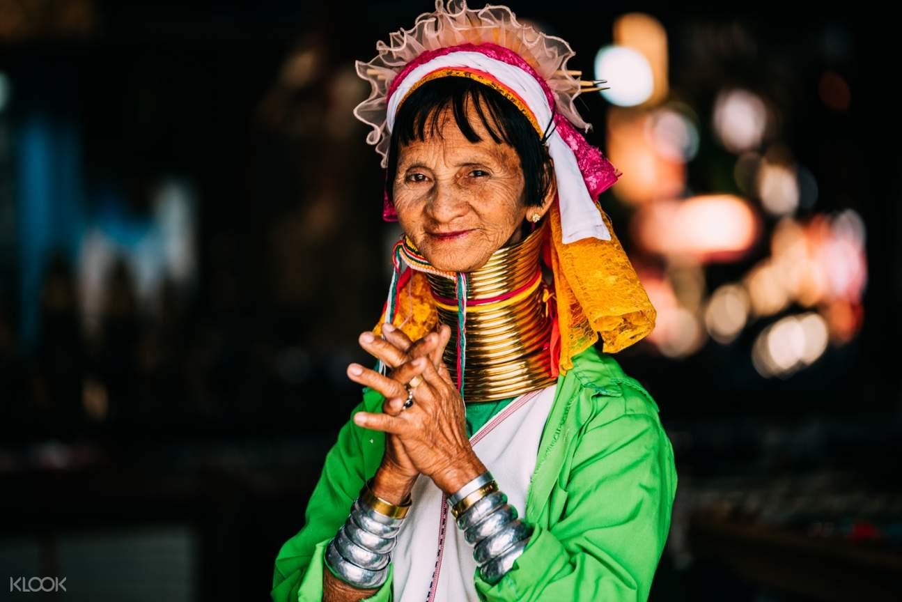 karen long neck tribe chiang rai
