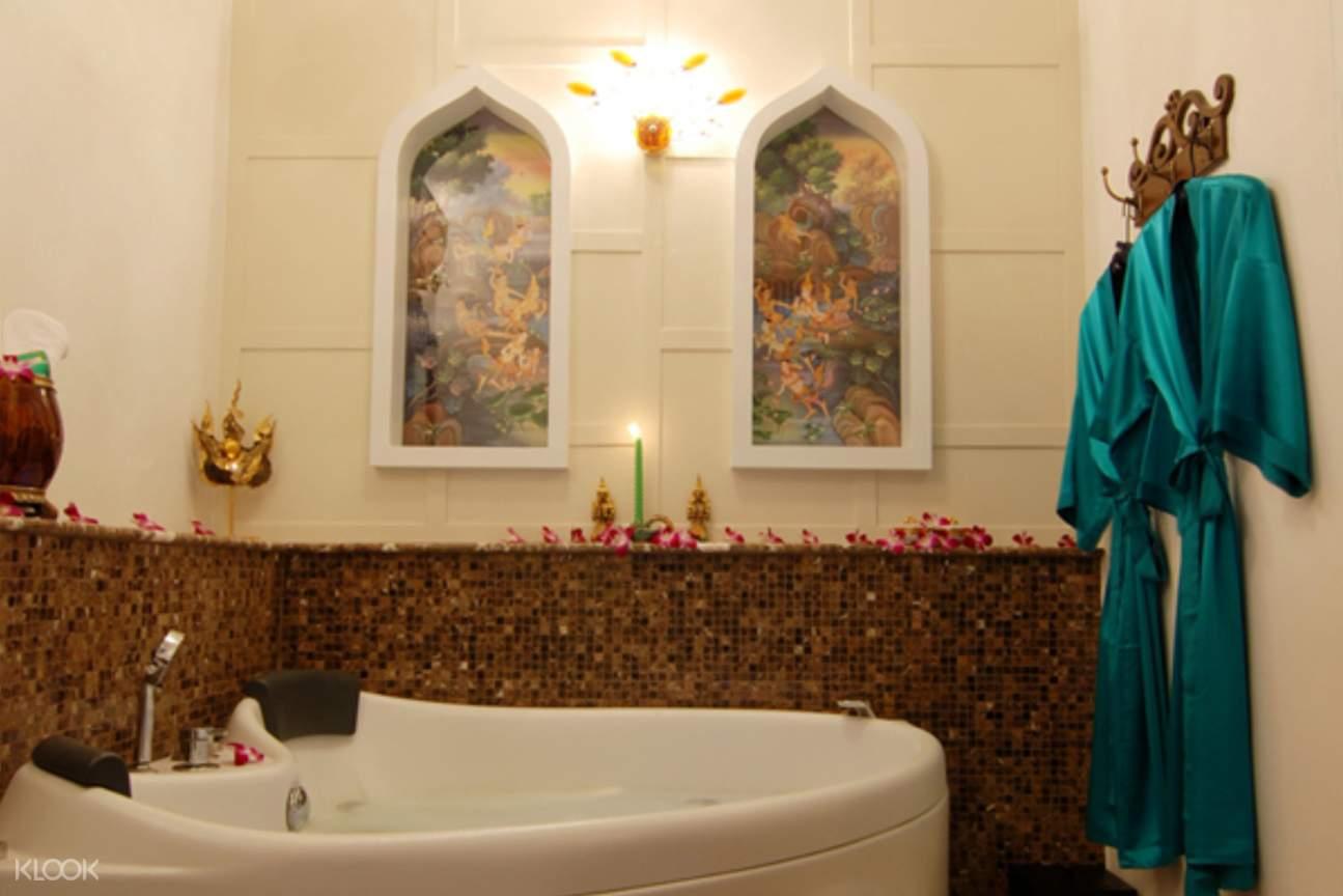 泰國曼谷按摩浴缸