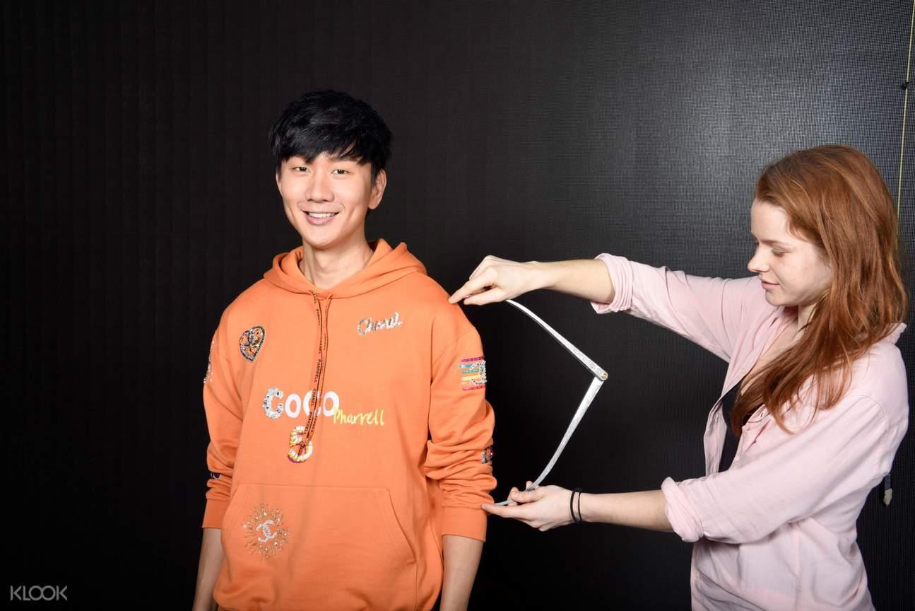 JJ Lin's wax figure