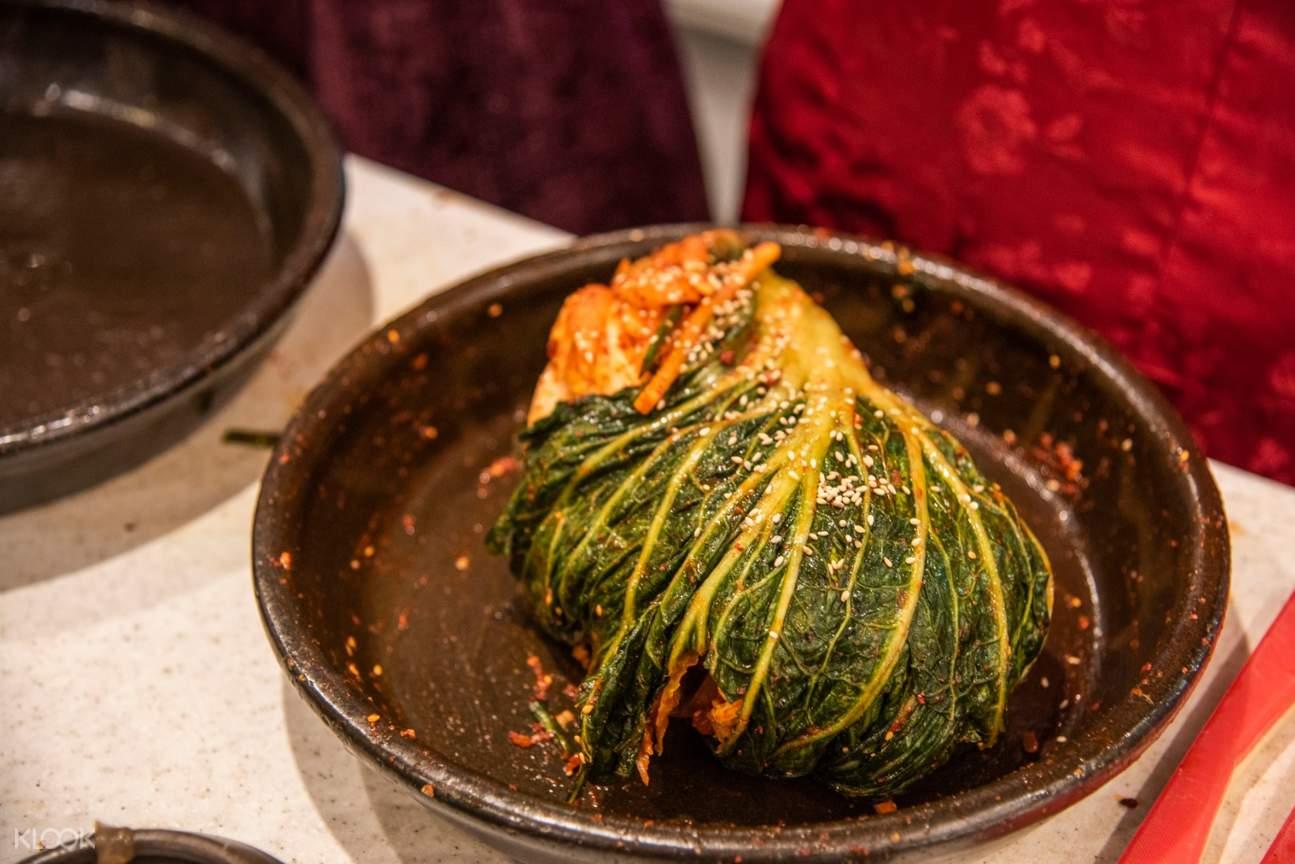 首尔泡菜、韩服文化体验