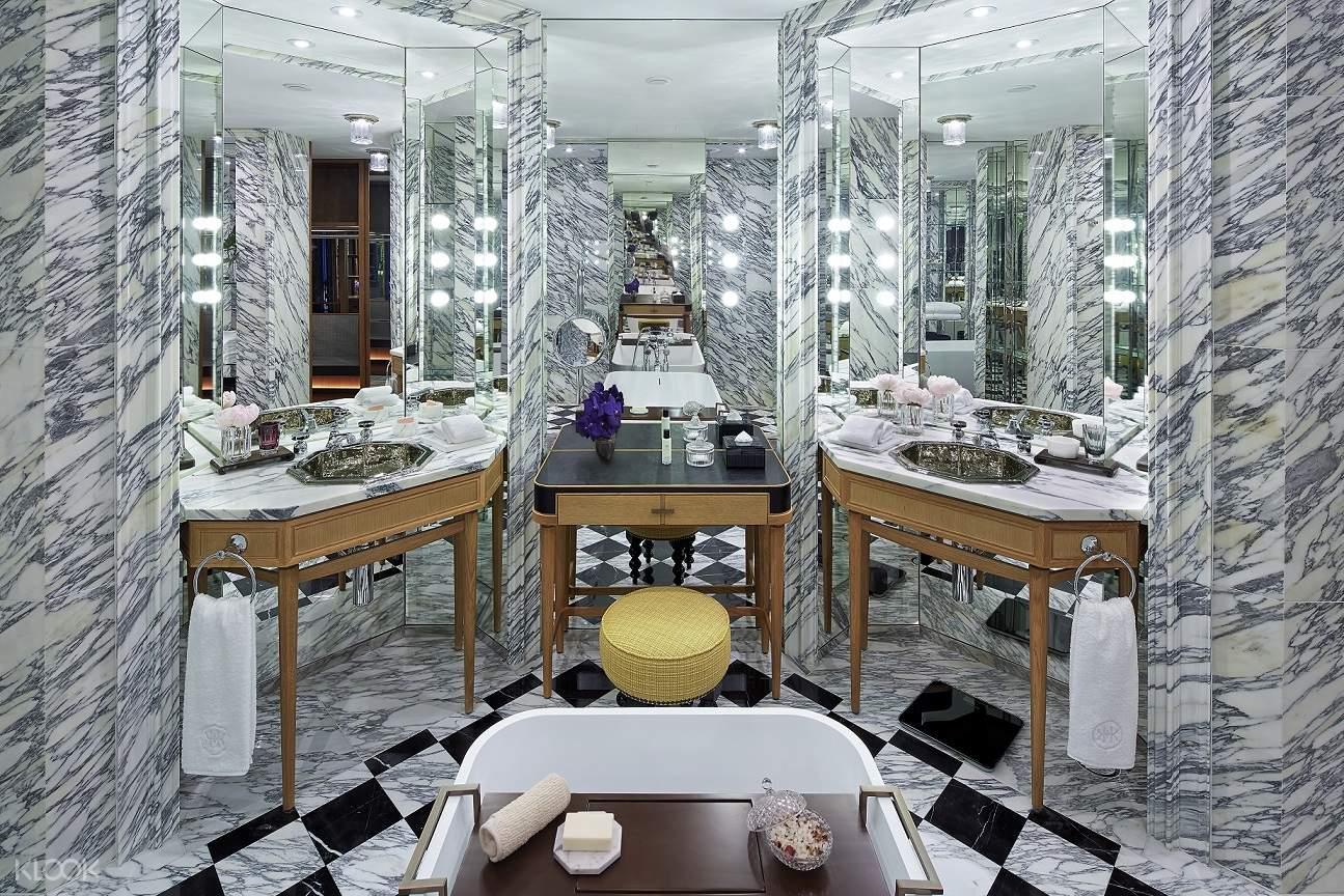 酒店漂亮的浴室設計