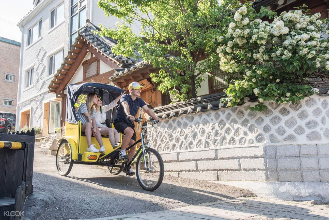 pedicab tour seoul