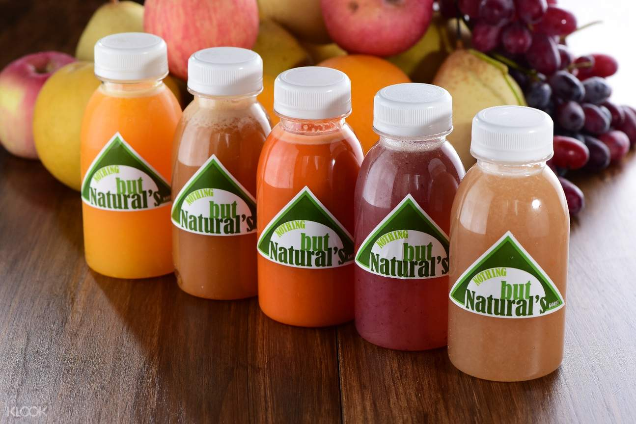 freshly squeezed natural fruit juices