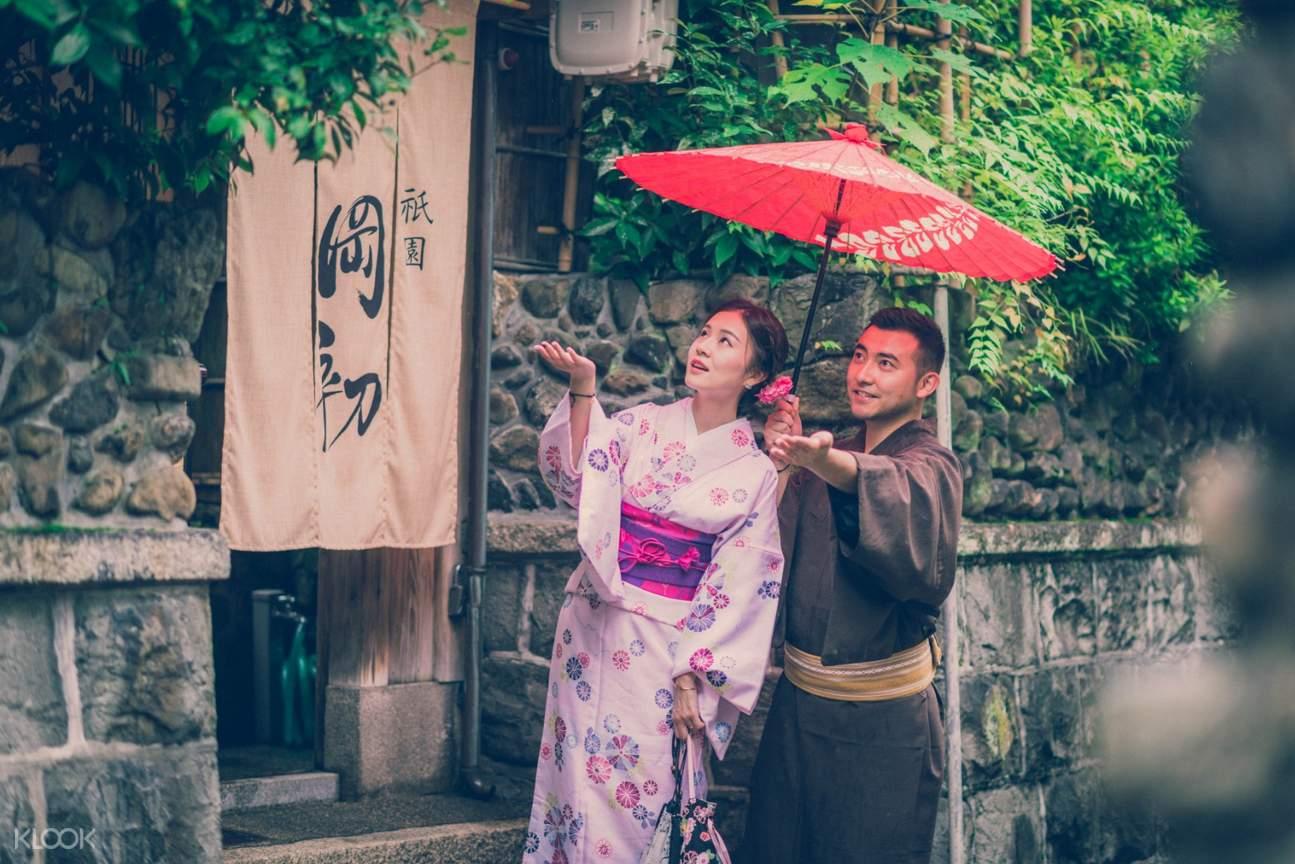 日本 京都 花间和服体验