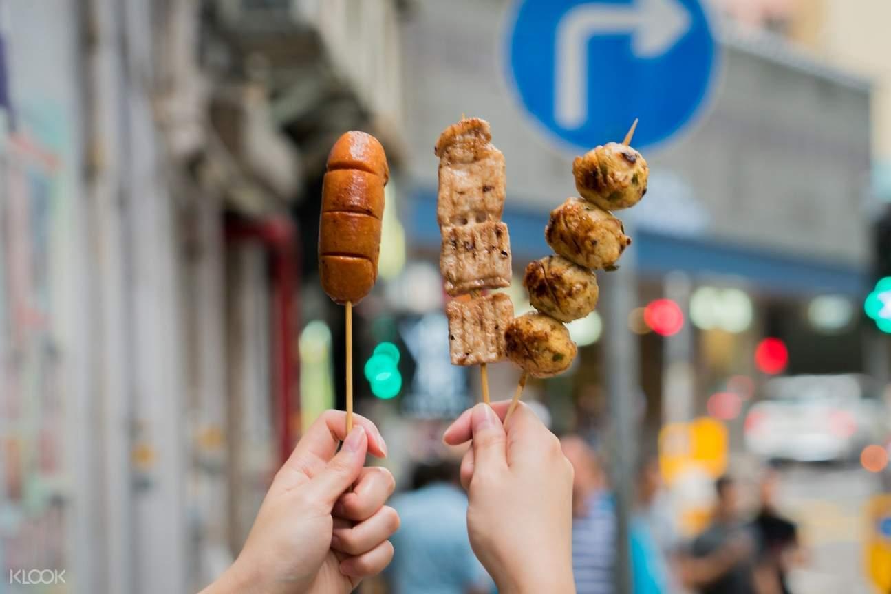 Chicken Wings Skewer at 9 Siu in Wan Chai