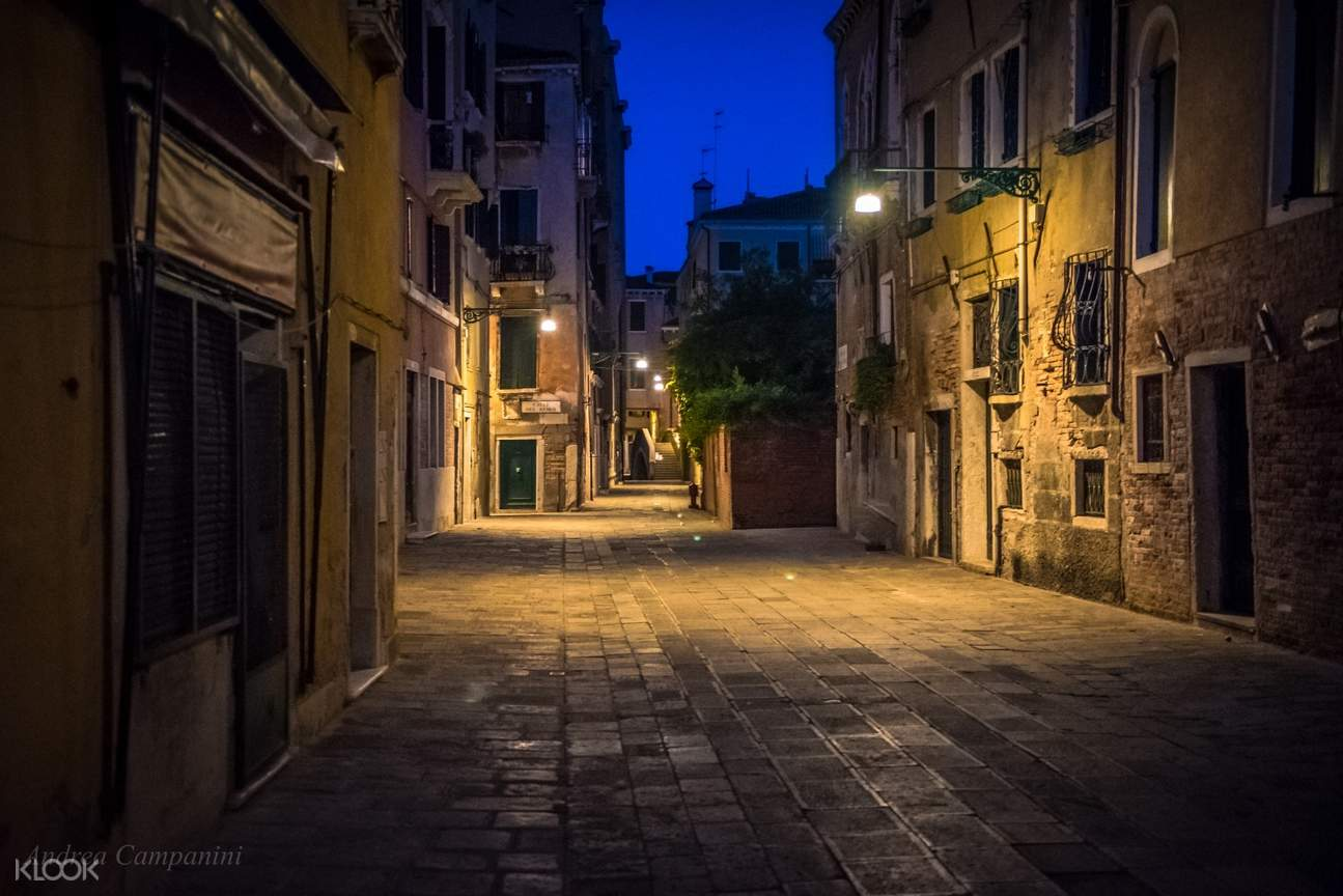 alleys of cannaregio district