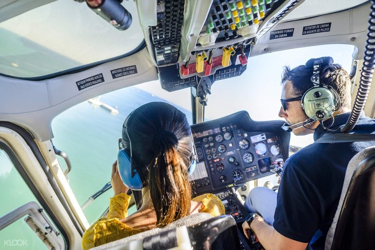 巴塞羅那直升機,巴塞羅那半日遊,巴塞羅那海陸空