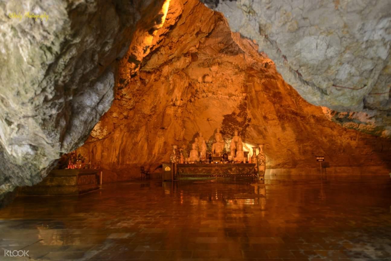 cave temple in vietnam