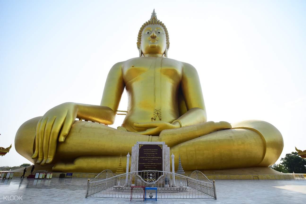 Wat Muang Temple Biggest Buddha