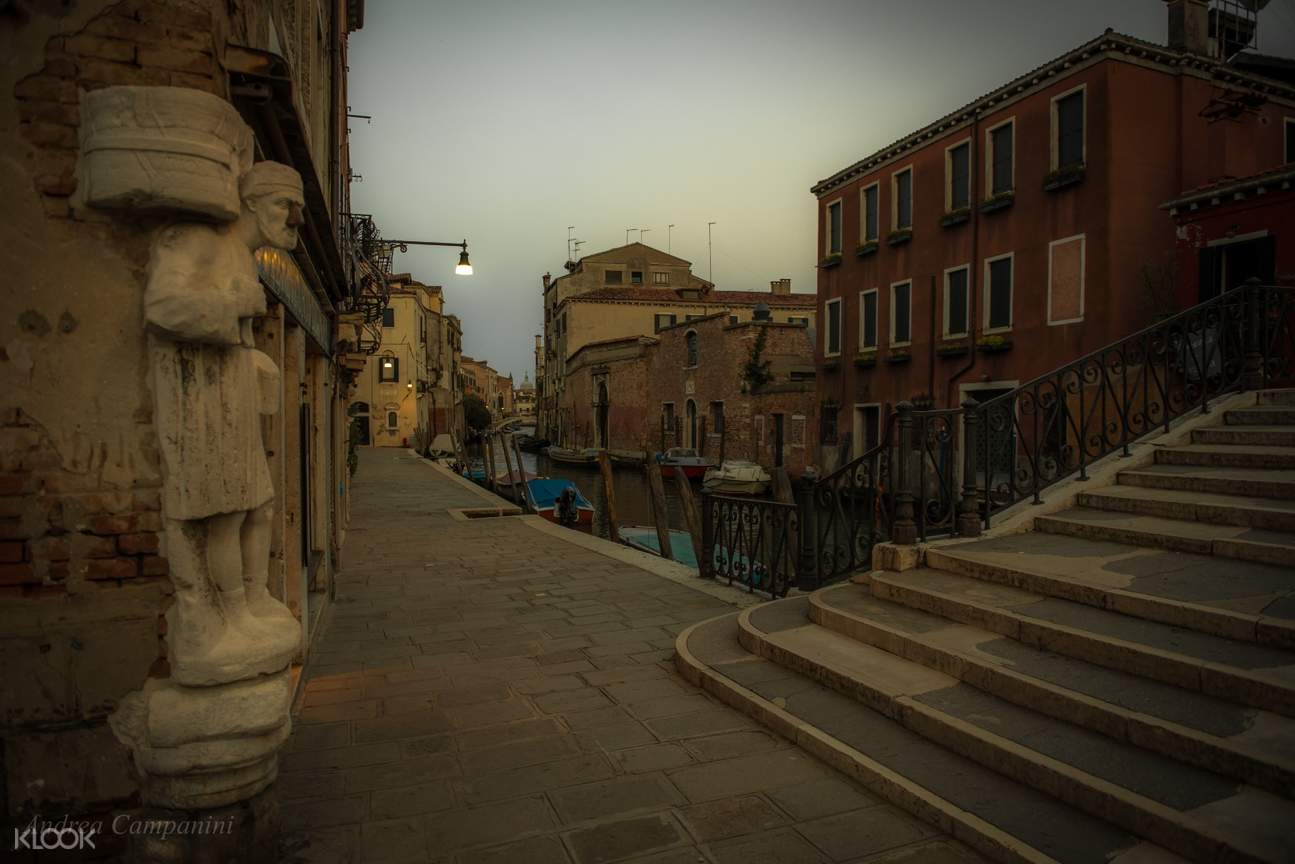 cannaregio district before sunset
