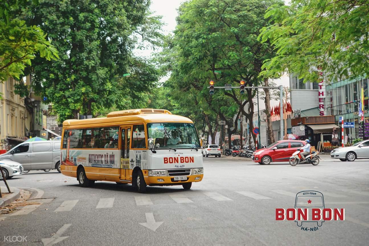 BonBon bus service in Hanoi