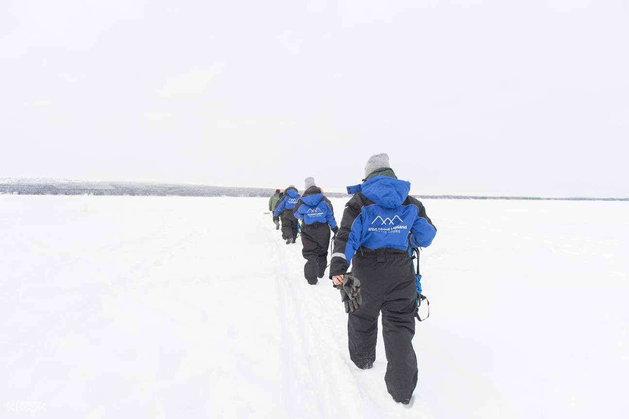 snowshoeing experience tour arctic