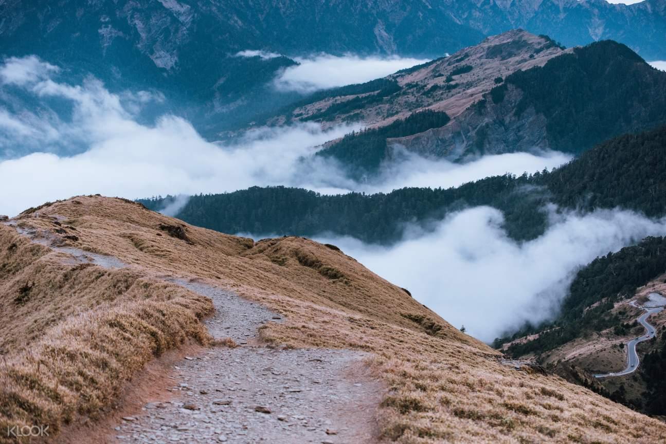 登山過程您可自行記錄每個像一幅畫一樣的美景