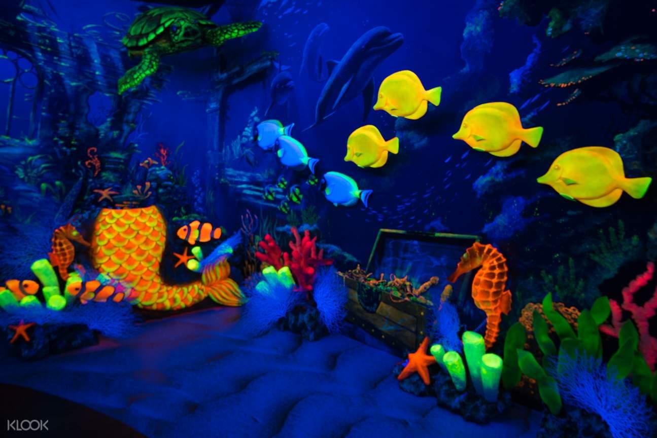 檳城大黑殿3D熒光博物館