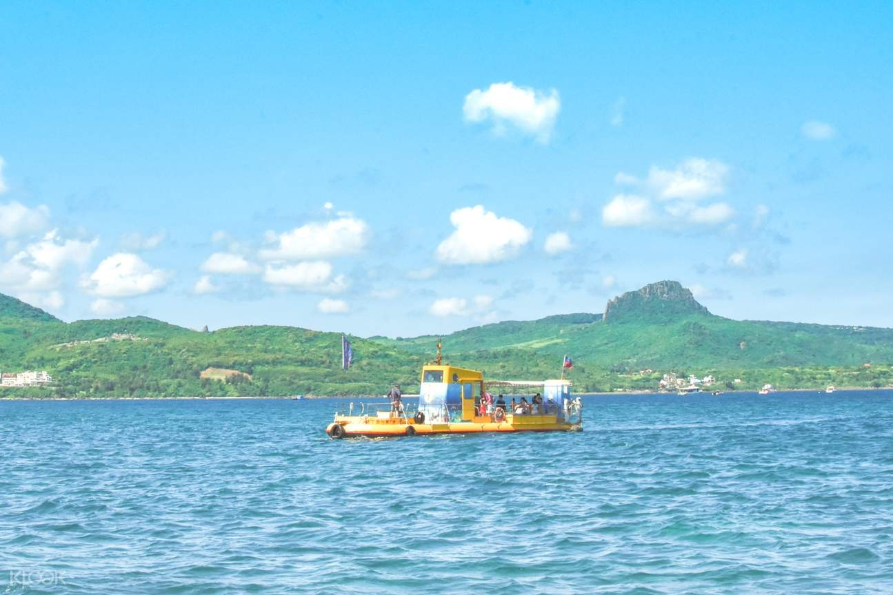 墾丁後壁湖半潛艇體驗