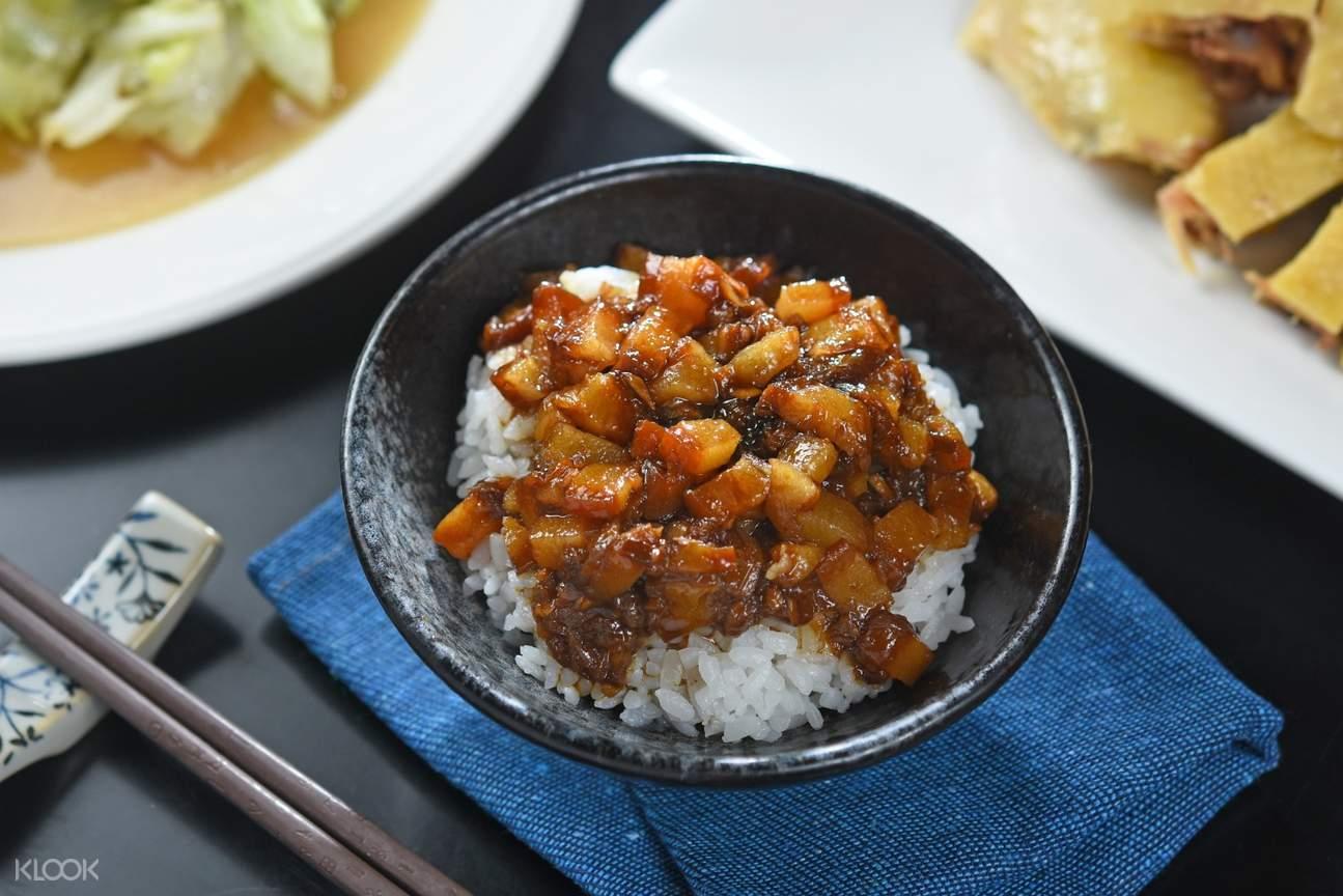 Braised Pork over Rice at My Stove at Songjiang Nanjing Station