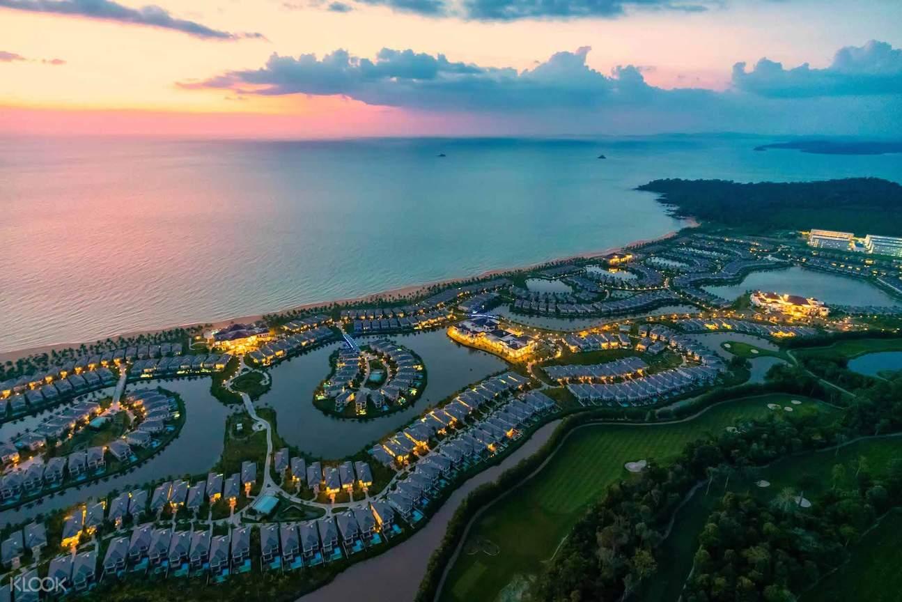 Khung cảnh ấn tượng của Vinpearl Discovery Phú Quốc