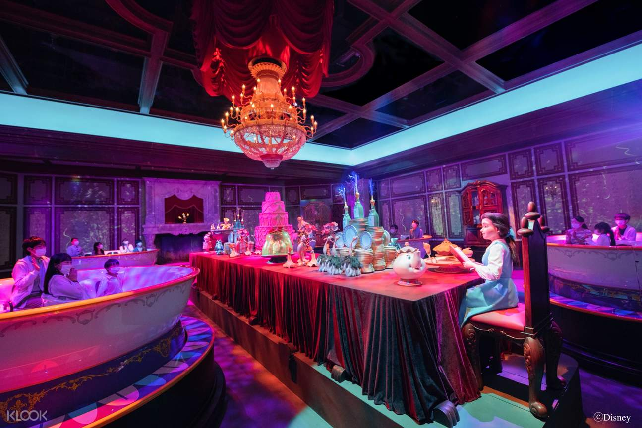 Tokyo Disneyland Enchanted Tale of Beauty and the Beast