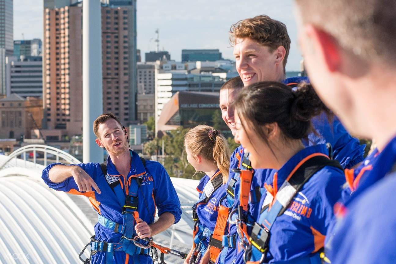 team leader roofclimb adelaide oval