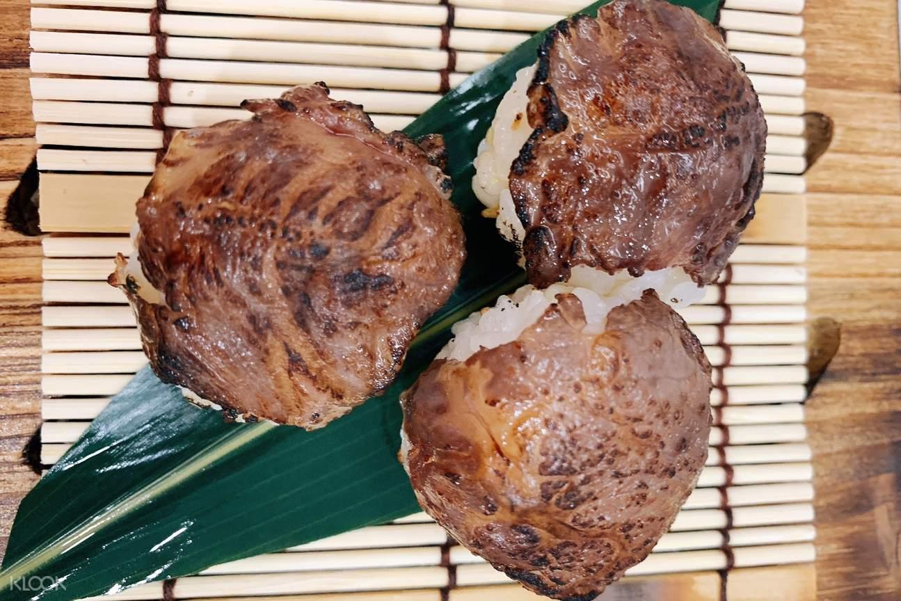 神戸牛握り寿司