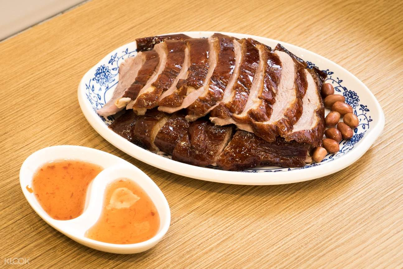 Roasted Goose Slices at Ki's Roasted Goose Restaurant in Wan Chai and Tin Hau