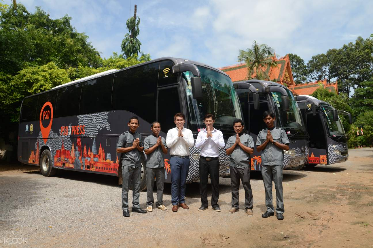 psd xpress coach transfer siem reap and phnom penh