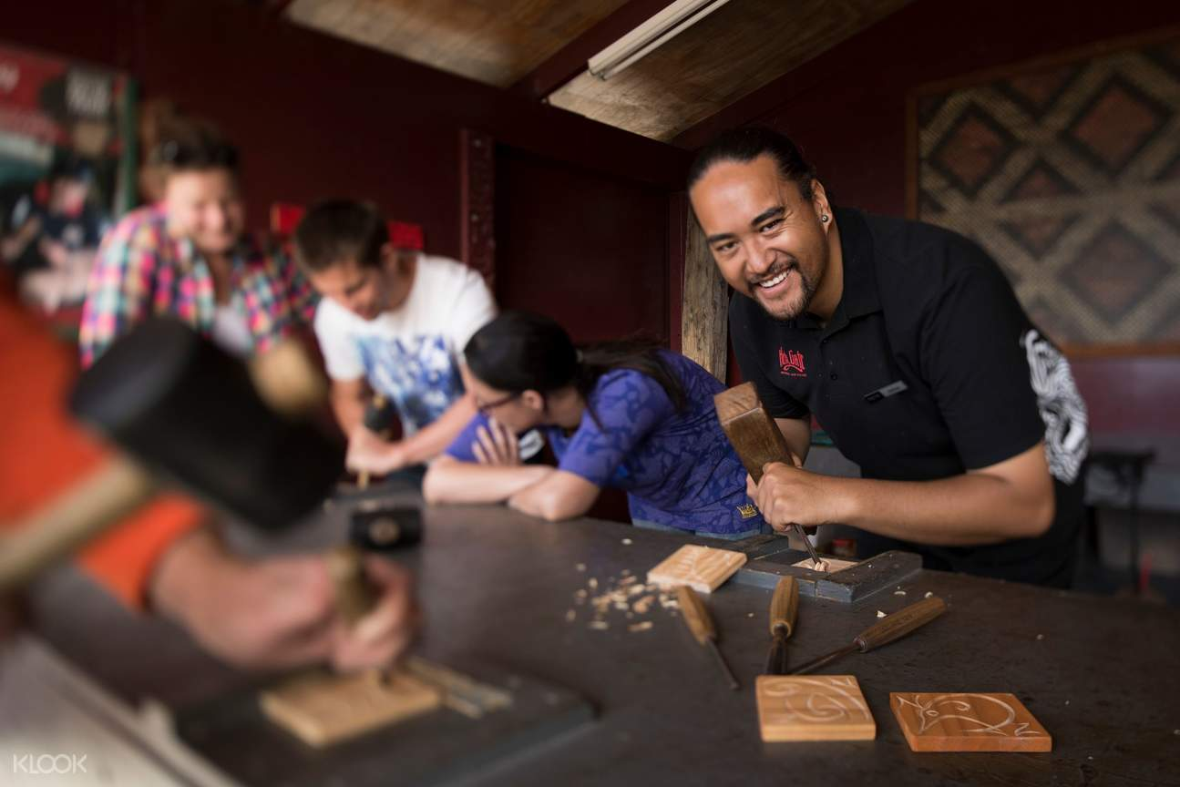 Try your hand at Māori carving