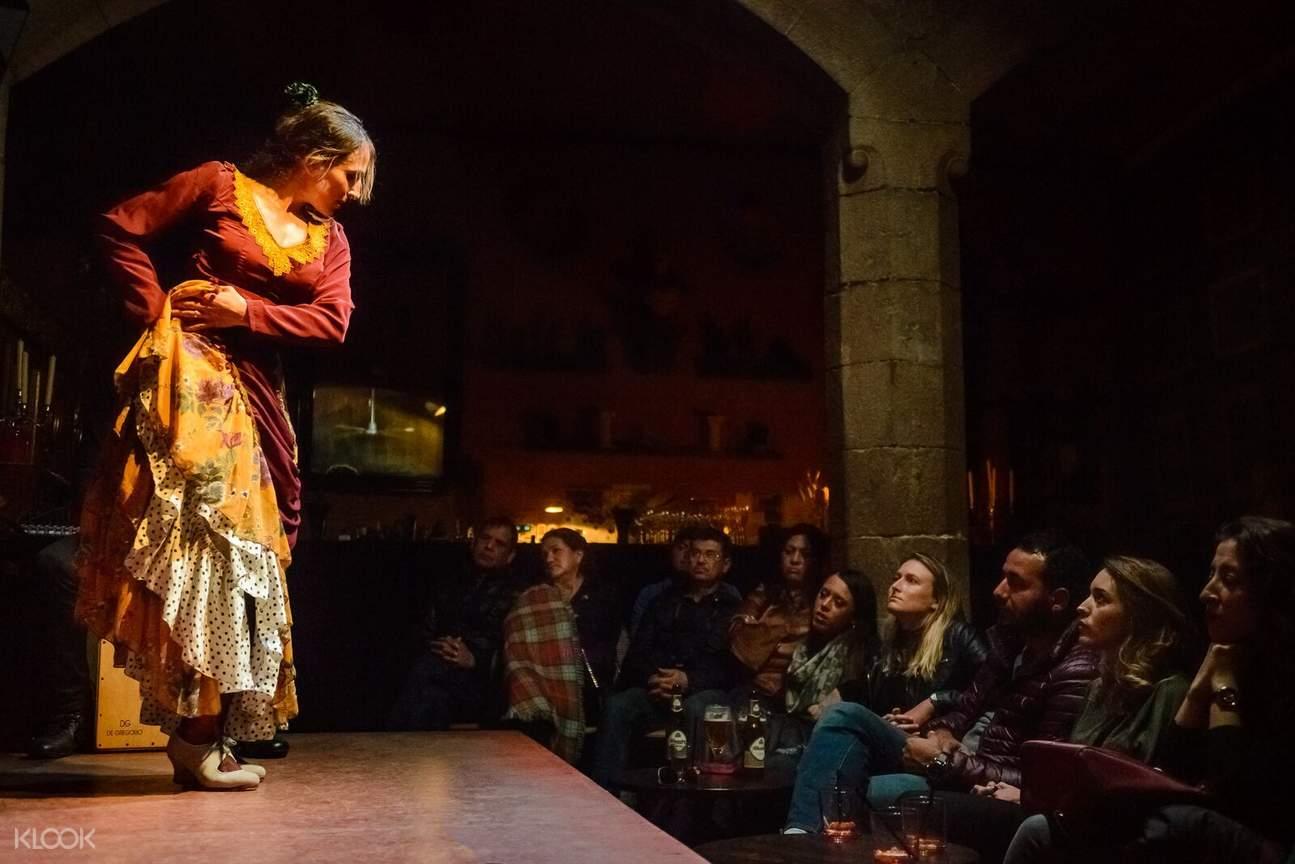 Palau Dalmases flamenco