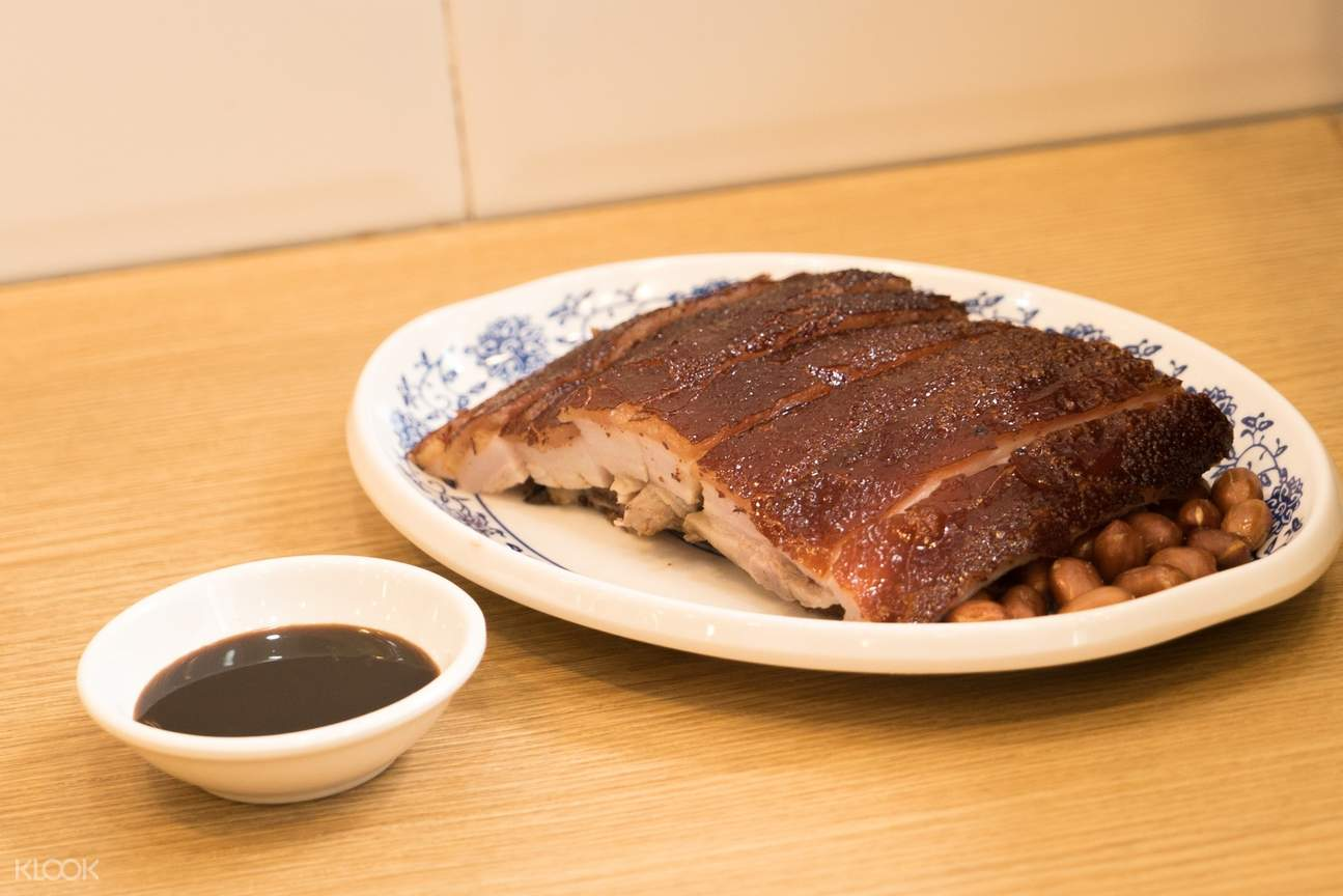Roasted Pork at Ki's Roasted Goose Restaurant in Wan Chai and Tin Hau