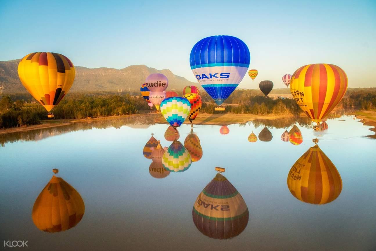 獵人谷熱氣球