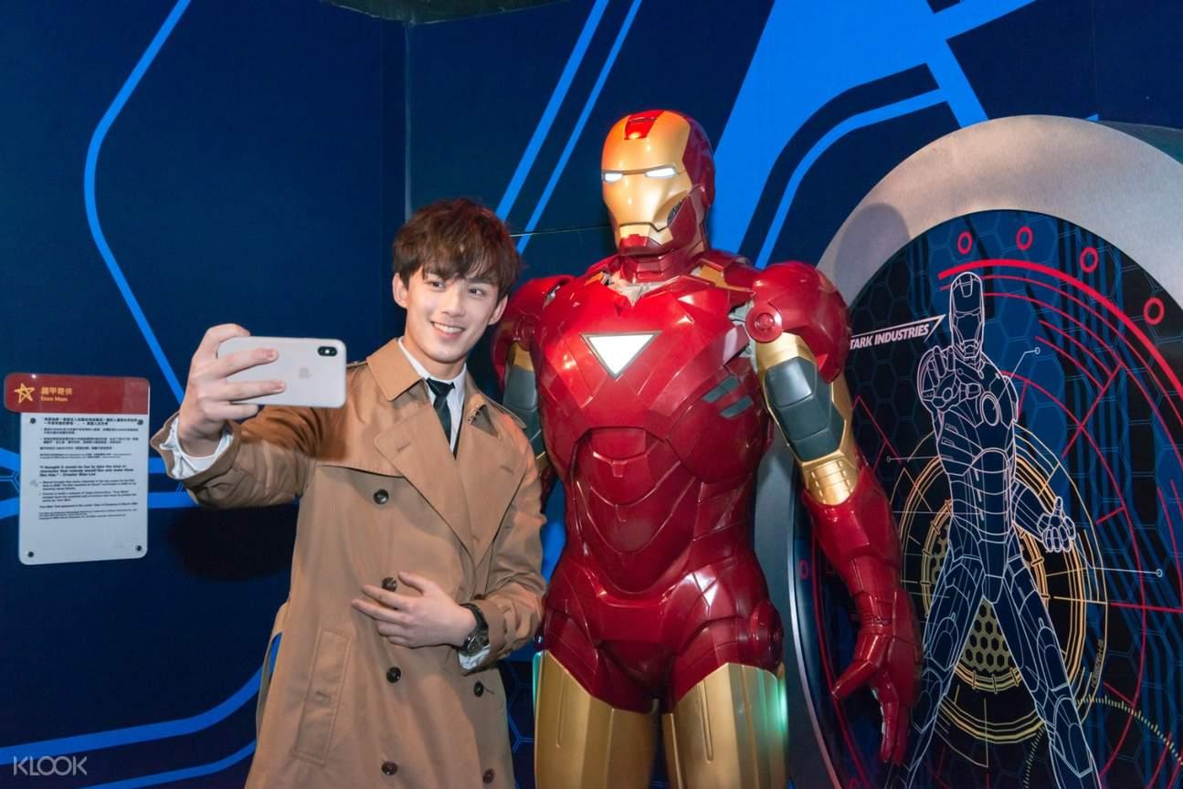 Hong Kong Madame Tussauds iron man