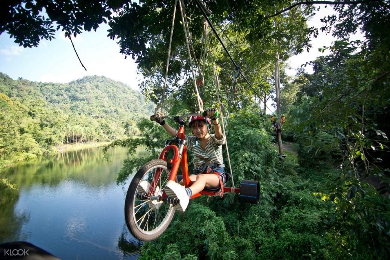 Tree Top Adventure Park Skybike