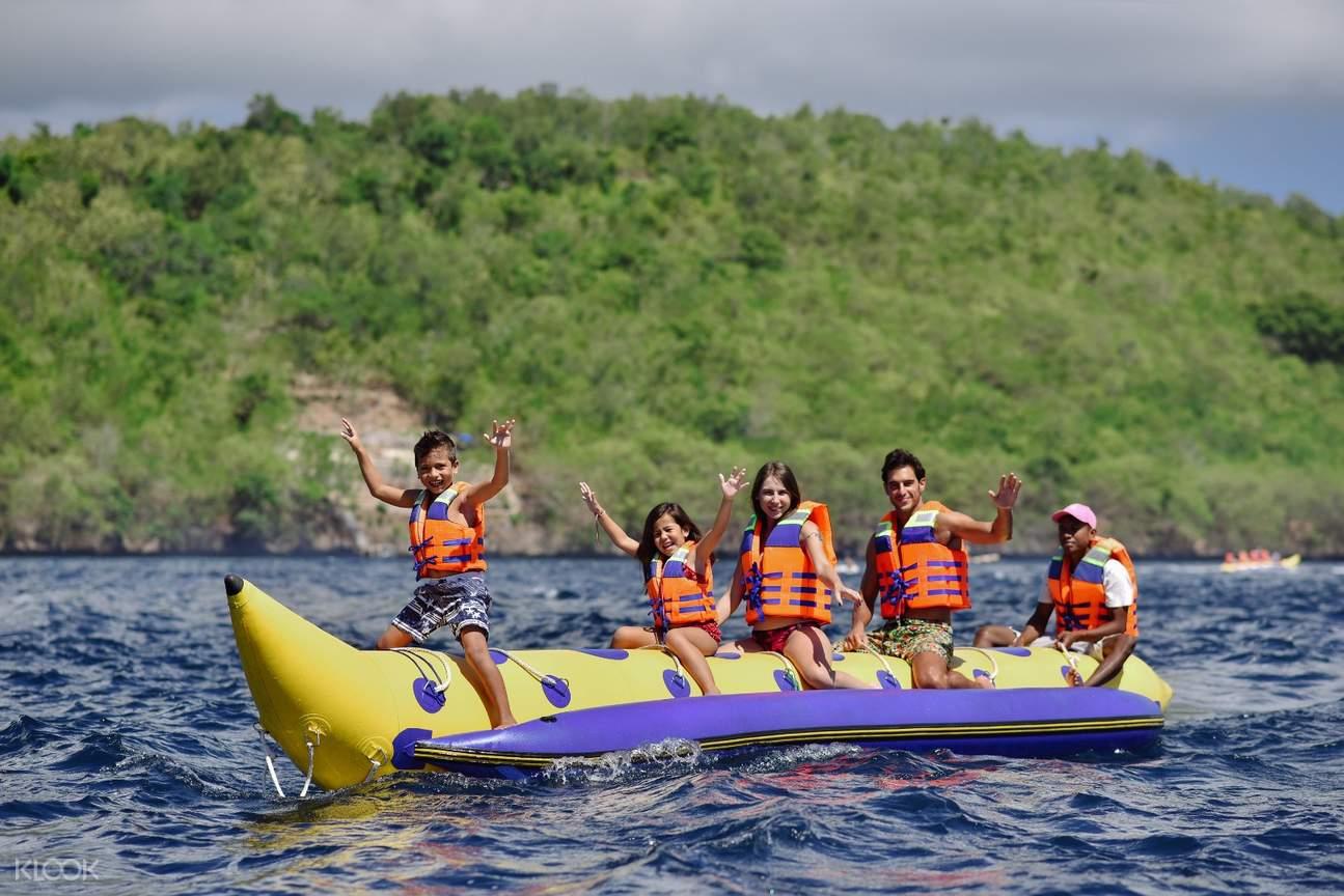 banana boat ride in bali
