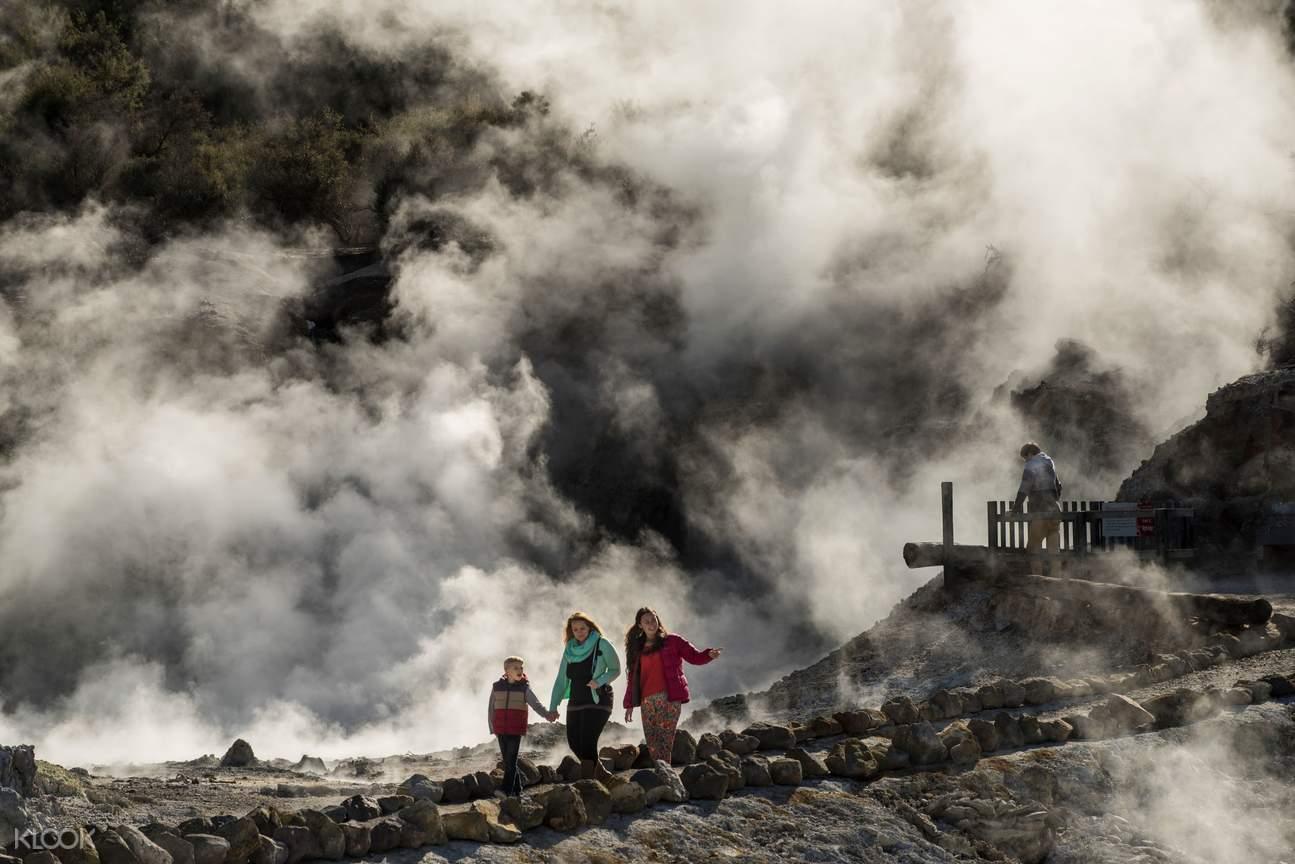 geothermal landscape Rotorua