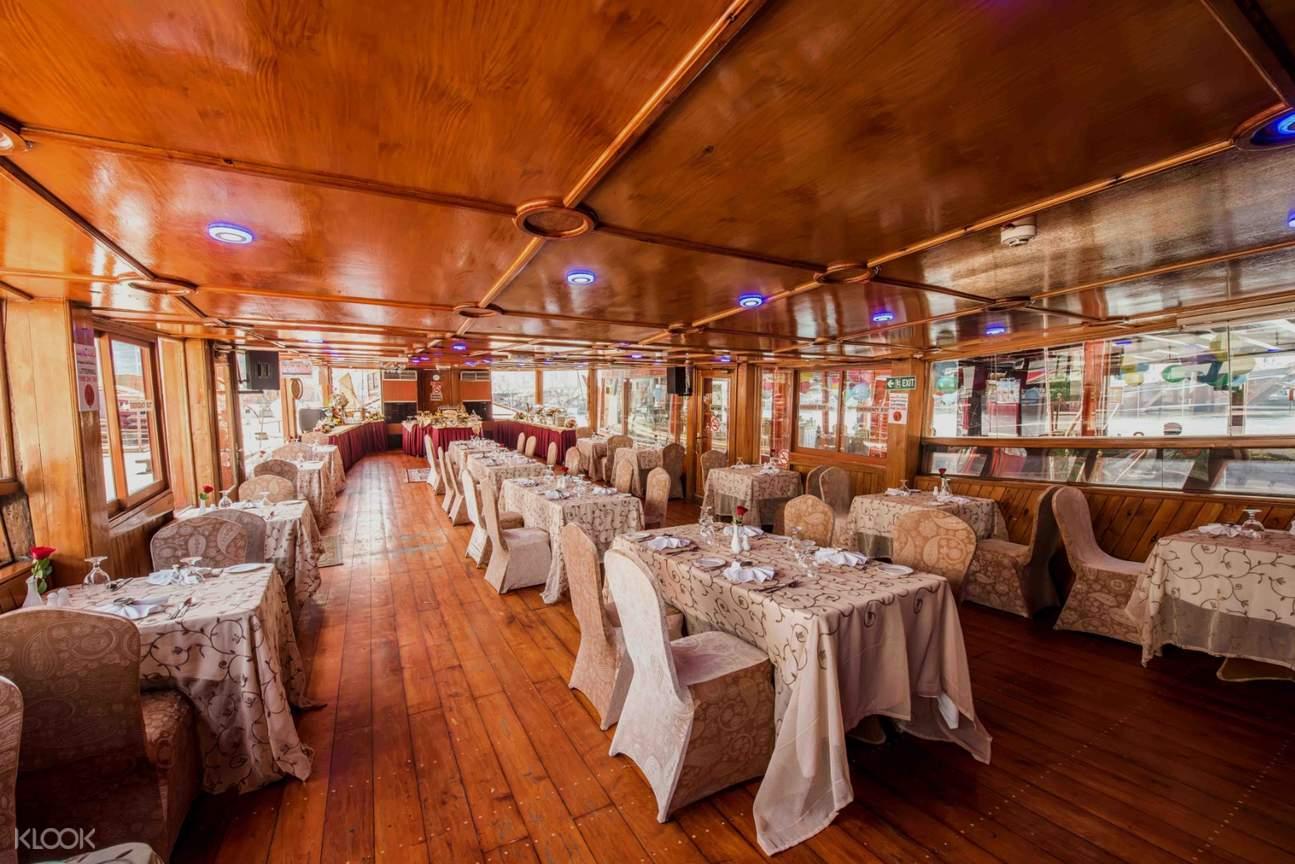 interior of cruise