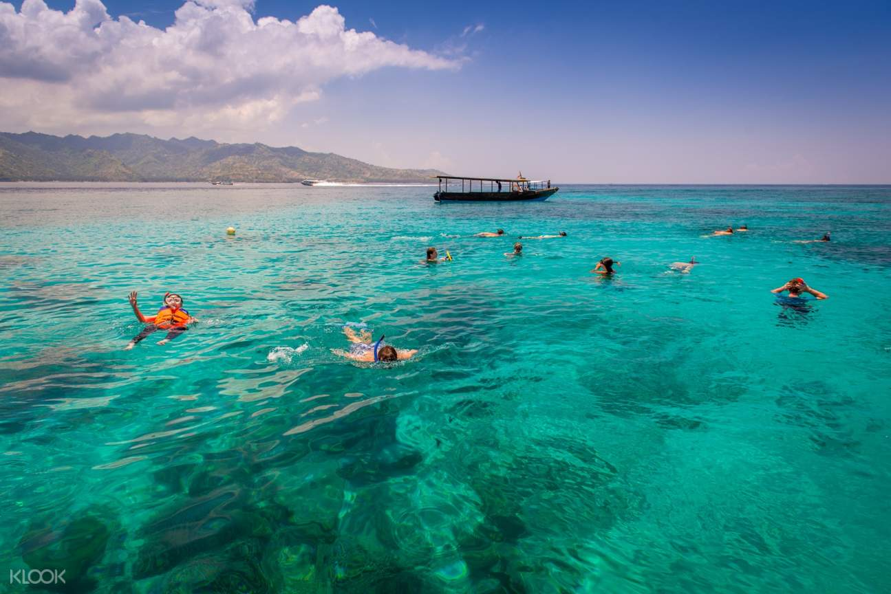 Experience snorkeling in a crystal clear water!