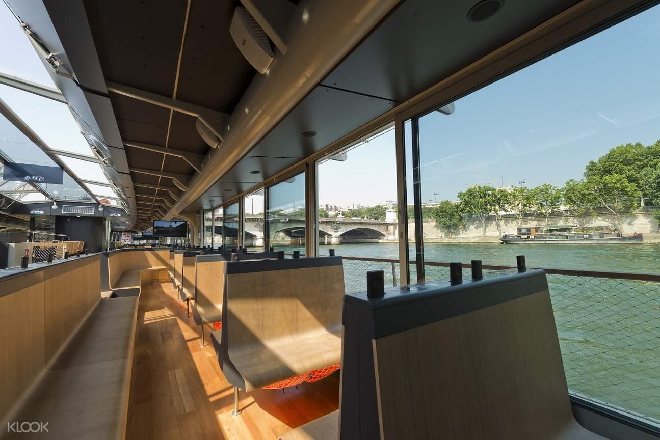 seine river sightseeing cruise