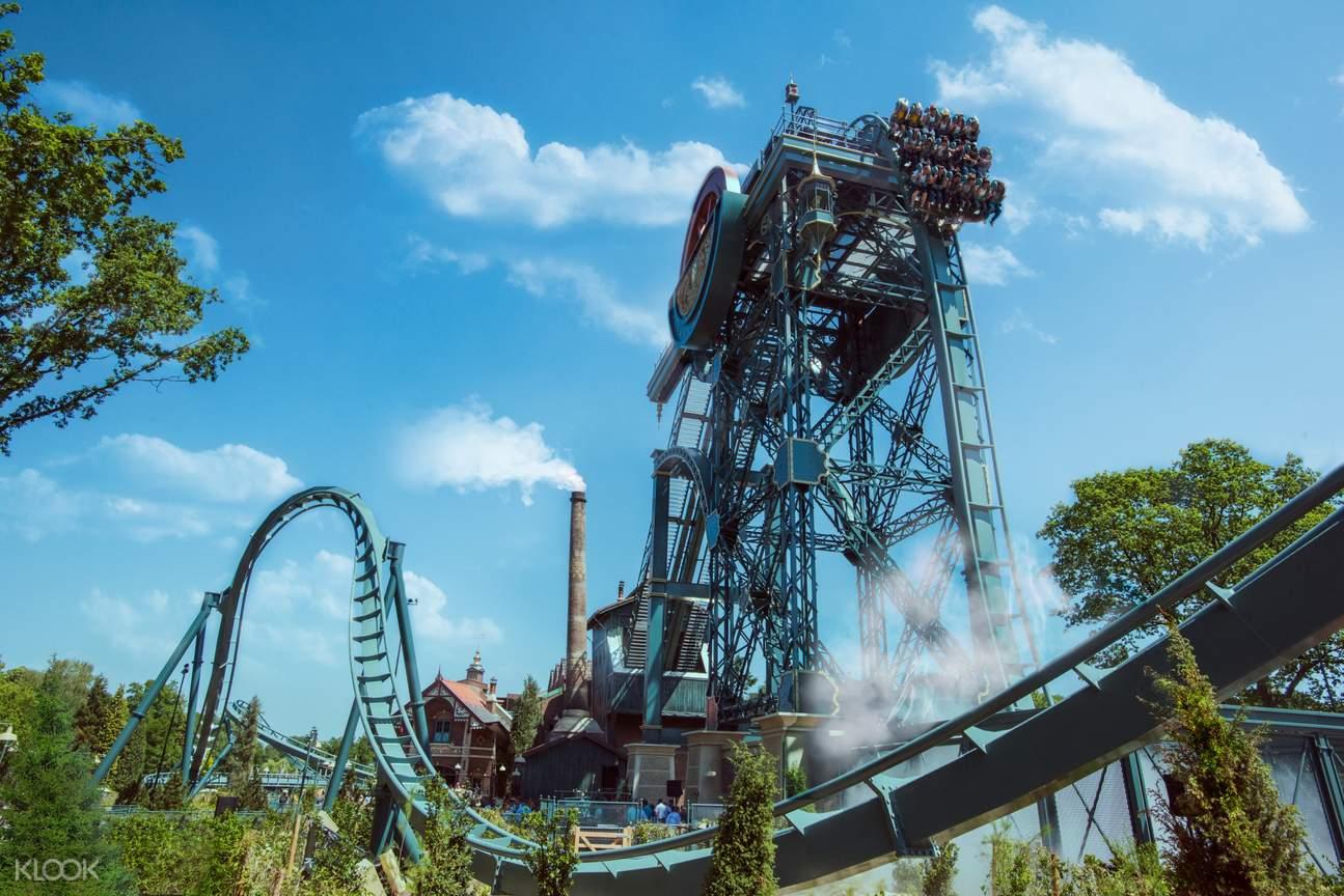 Baron roller coaster