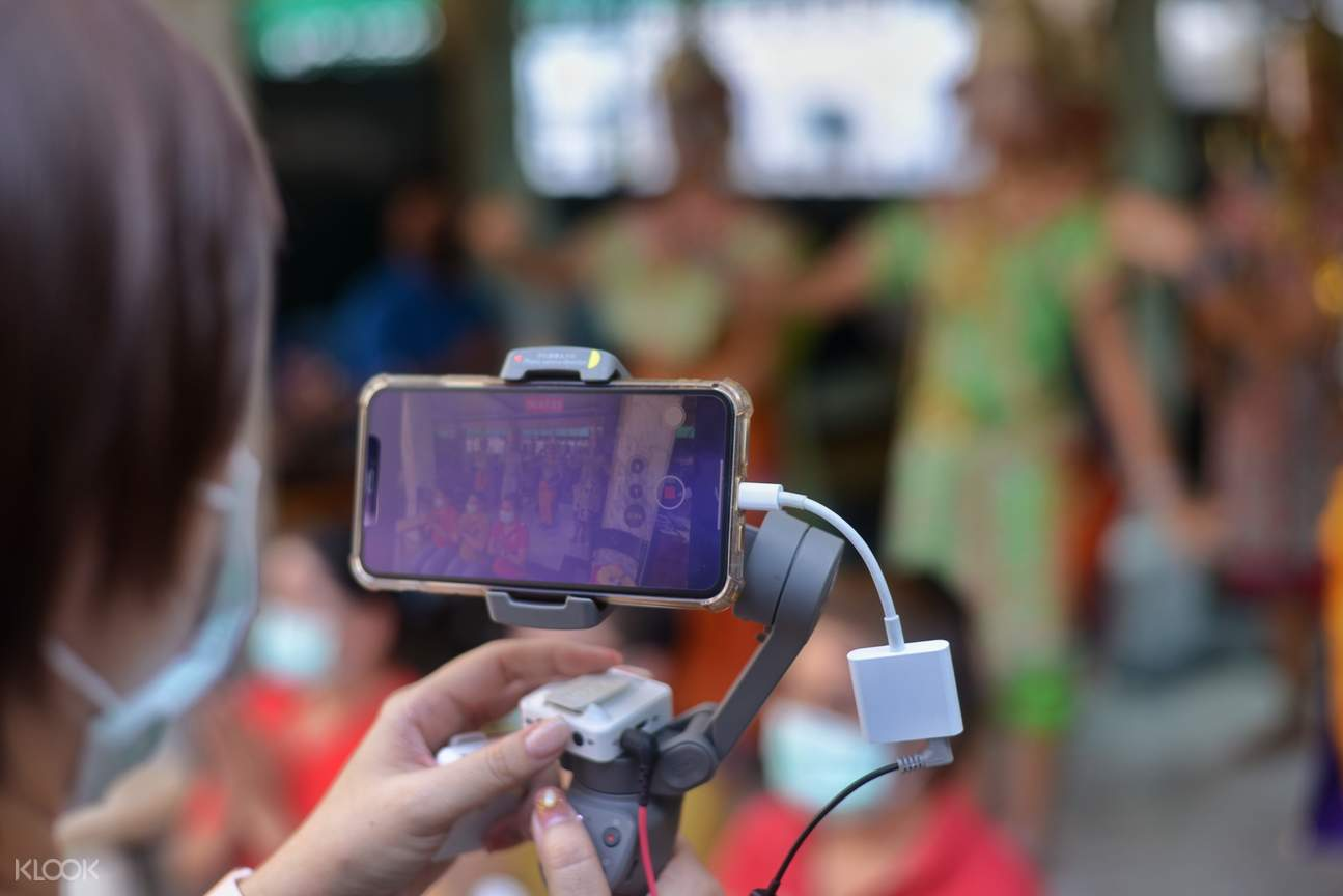 Erawan Shrine video call