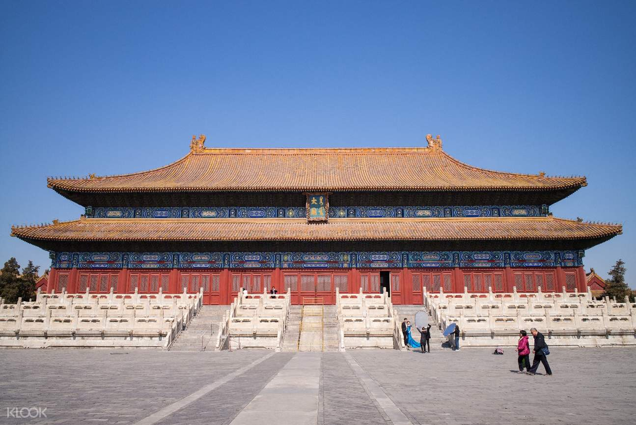 Day Tour to Tiananmen Square, Forbidden City and Temple of