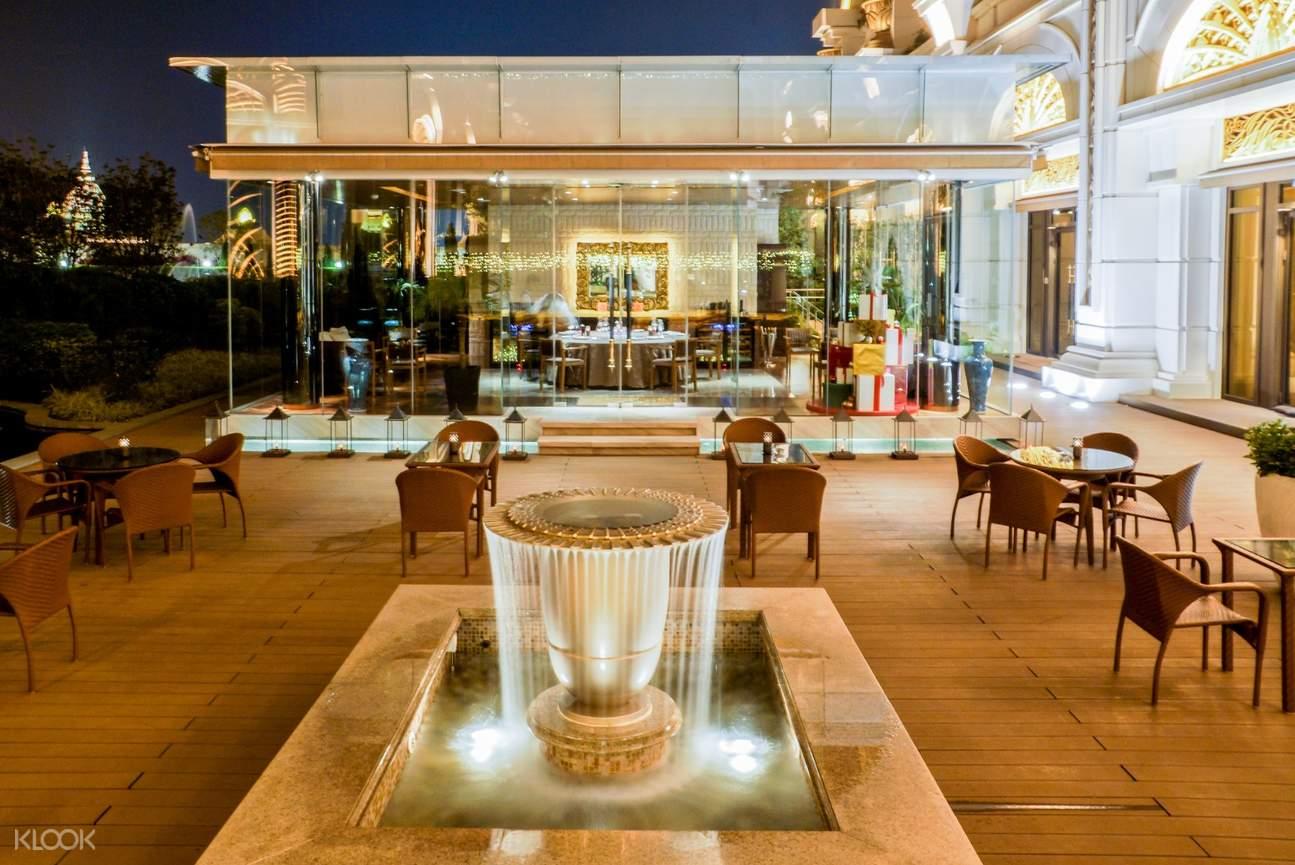 terrazza italian restaurant galaxy macau