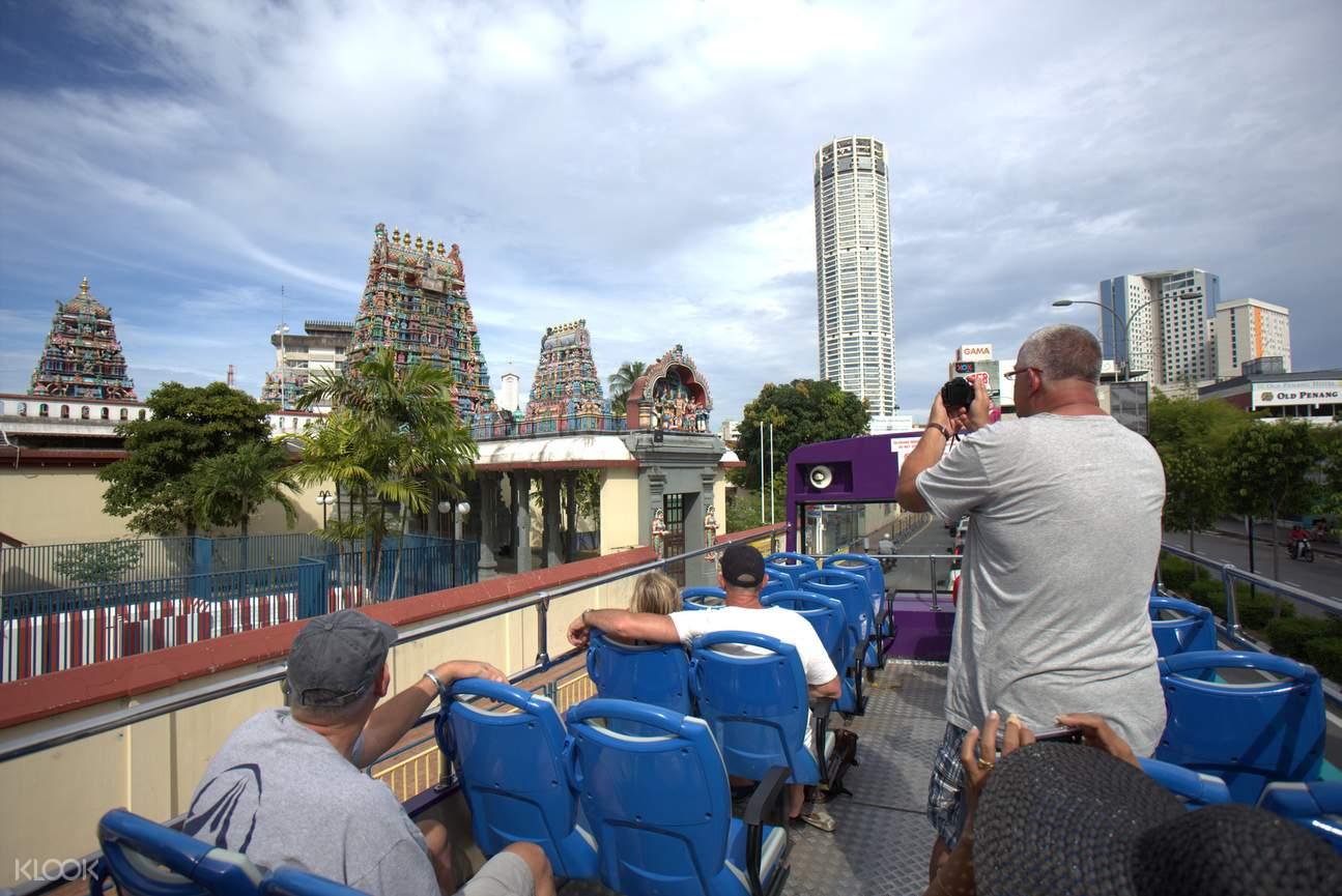 Penang Hop On Hop Off Double-Decker Bus Tour