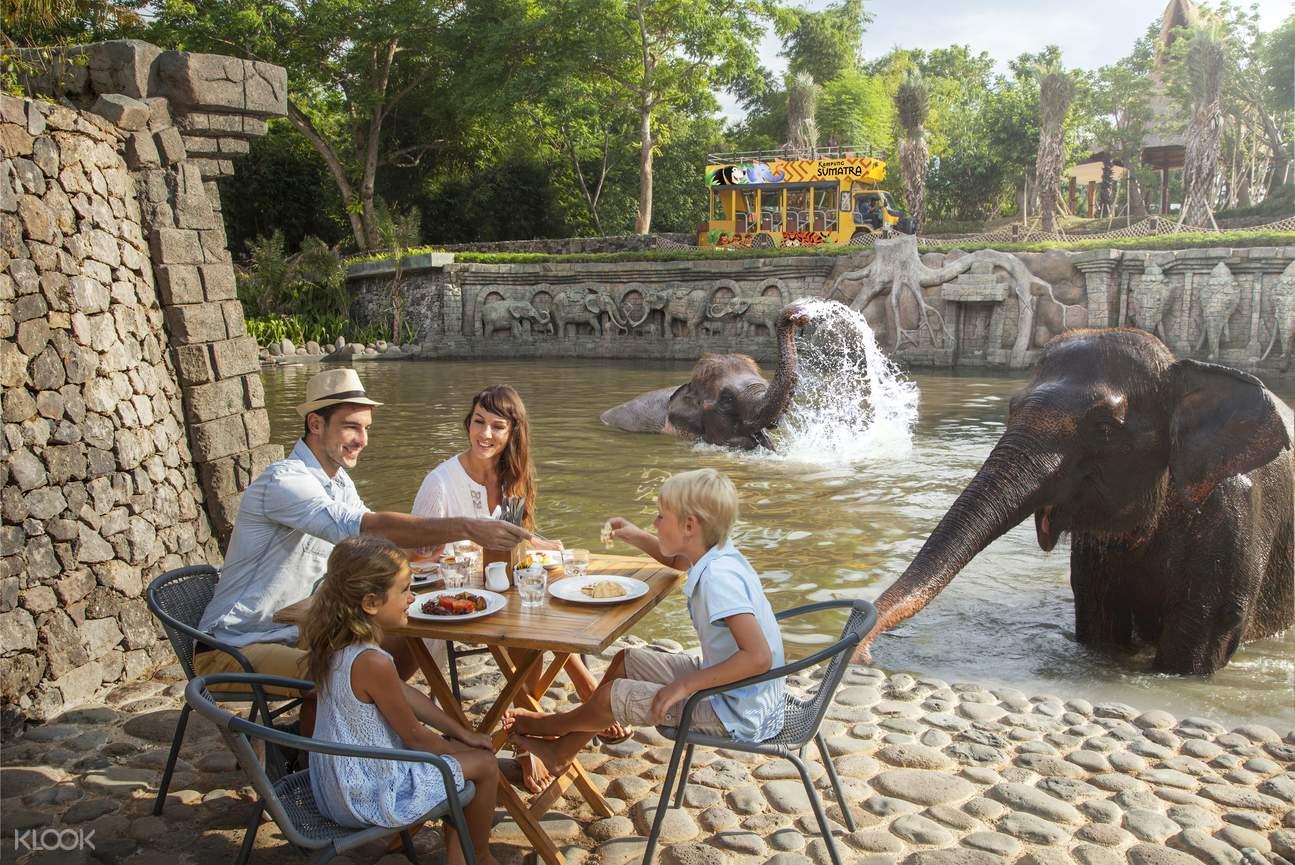 巴厘岛动物园,巴厘岛动物园早餐,巴厘岛特别体验,巴厘岛有什么好玩的