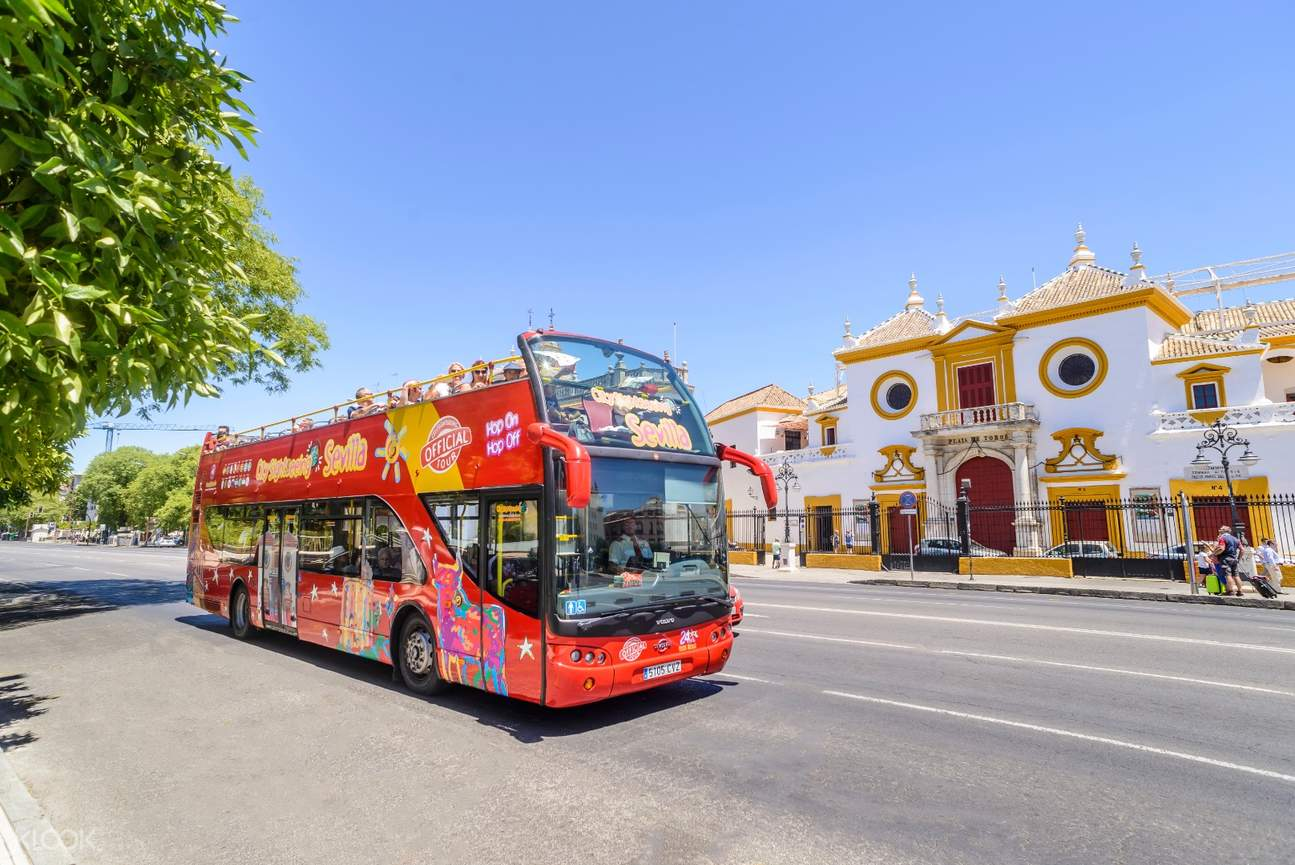 seville hop on hop off bus sightseeing tour la macarena