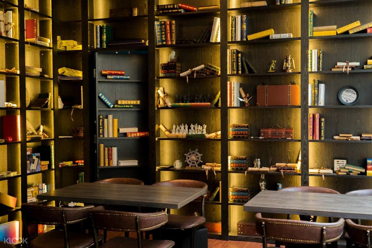 尖沙咀魔衣橱咖啡厅内部