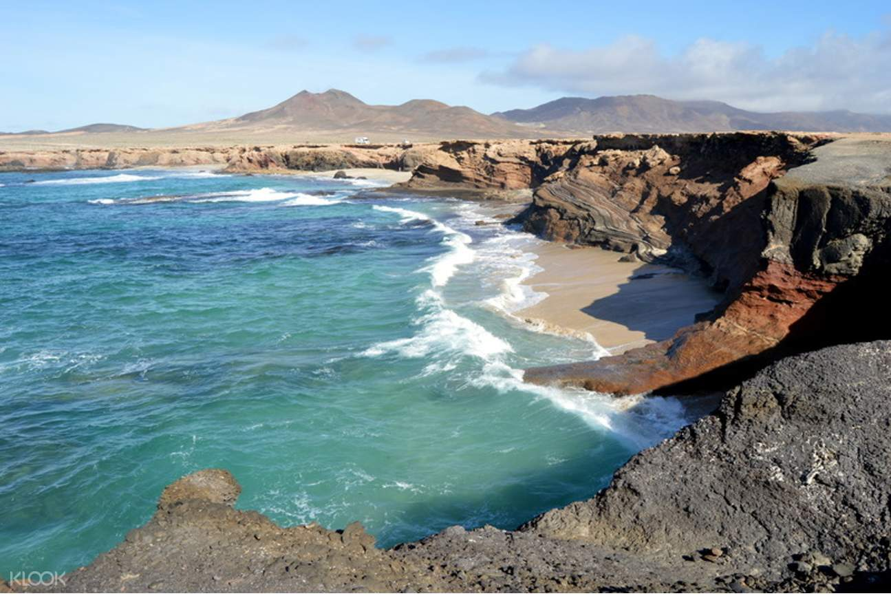 atlantic ocean near fuerteventura beach