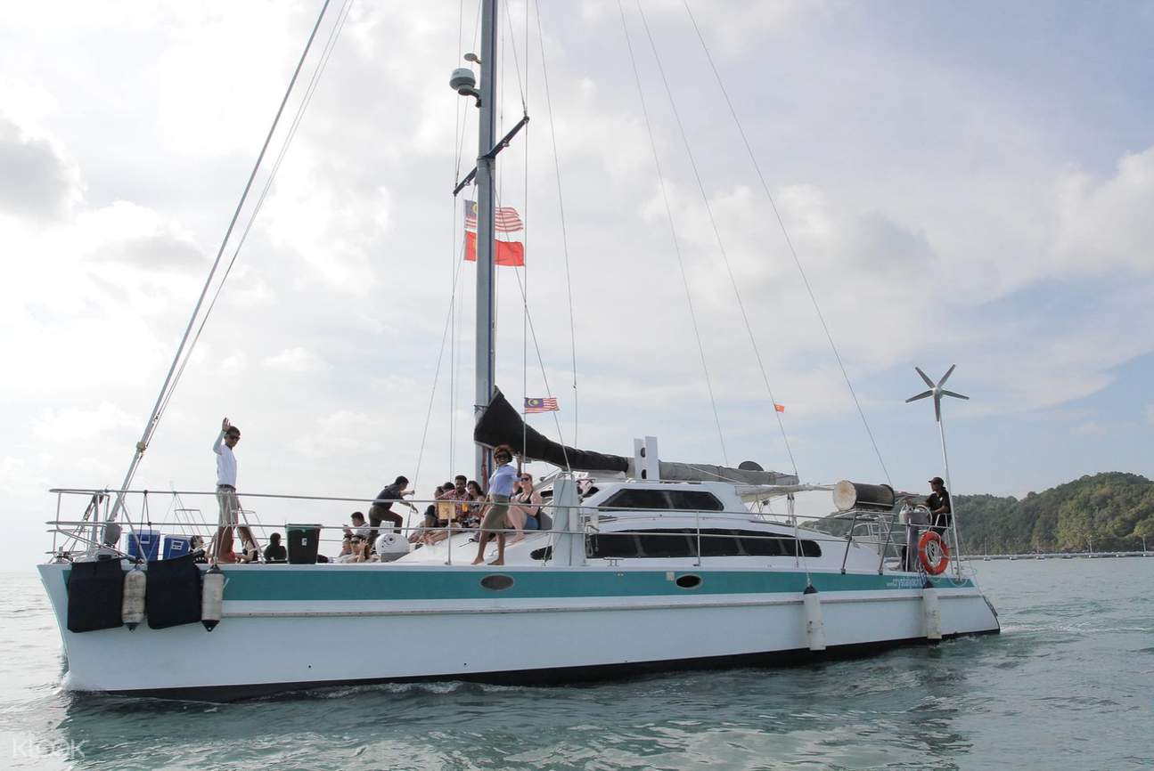 Langkawi luxury cruise yacht