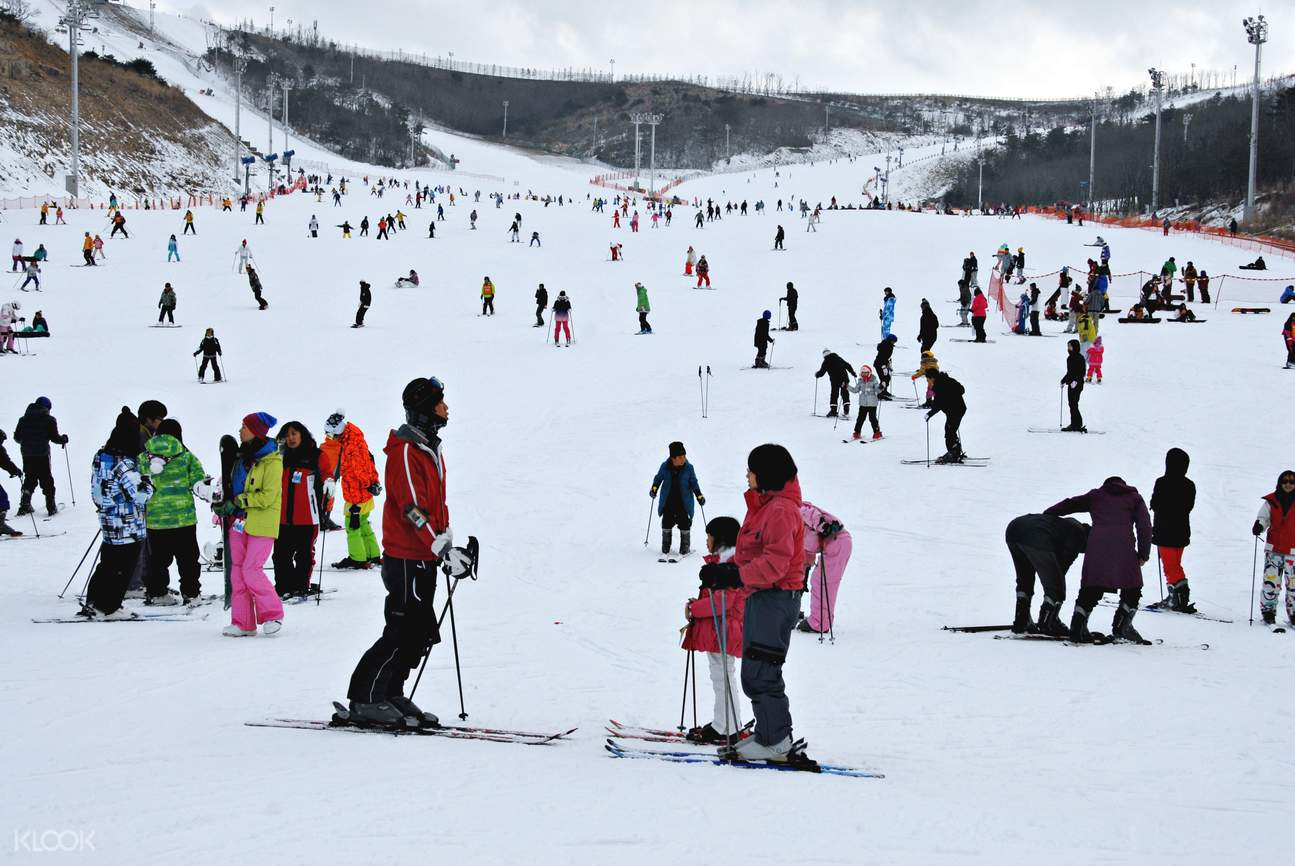 釜山周边 庆尚南道梁山市 伊甸园山谷滑雪度假村